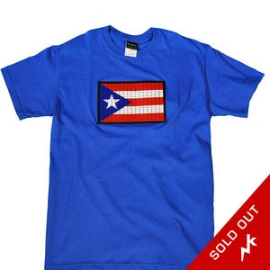 Image of Puerto Rican Flag (blue)