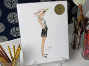 "Image of Open Edition Print: ""Audrey"""
