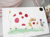Image of Limited Edition Print: &quot;Dotty &amp; Ida&quot;