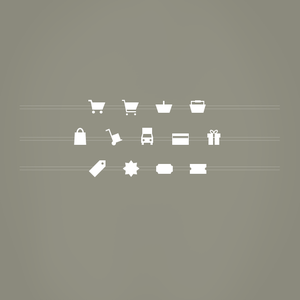 Image of 13 Vector Shapes: Ecommerce Add-on