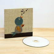 Image of Winter Bird CD Card
