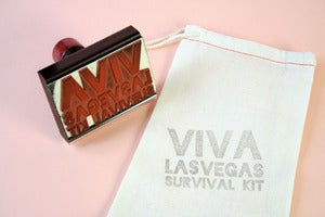 Image of Viva Las Vegas favor bags