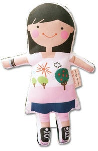 "Image of 12"" CUSTOM GIRL DOLL"