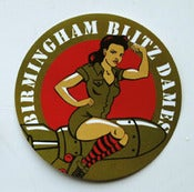 Image of Blitz Dames Paper Sticker