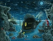 Image of &quot;NIGHT TRAWLER&quot;   Special Large Signed Edition