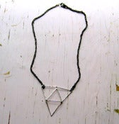 Image of Constructed Triangle Necklace