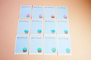 Image of Cupcake bookplates