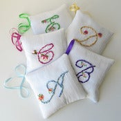 Image of custom made lavender sachet