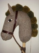 Image of Hobby Horse (harris tweed) SALE!