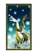 Image of Memories of a Gardner Snake Mini Giclee
