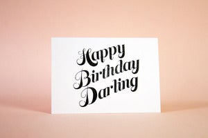 Image of Happy Birthday Darling