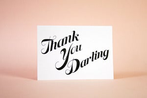 Image of Thank You Darling