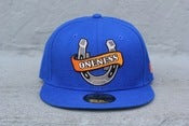 Image of HORSE SHOE NEW ERA 5950 BLUE