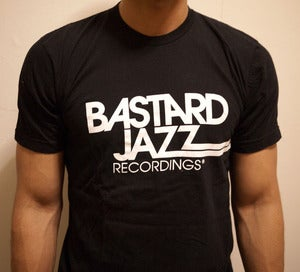 Image of Bastard Jazz New Logo Tee - Black
