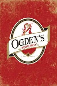 Image of Ogden's Firewhiskey Poster