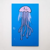Image of Jellyfish Canvas