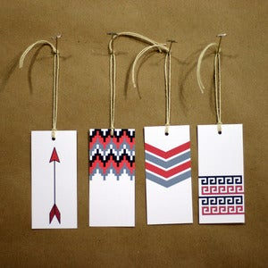 Image of native summer tags