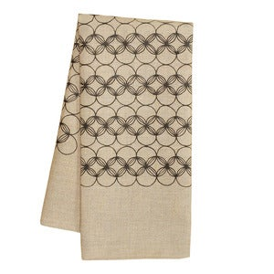 Image of Natural Circles Tea Towel