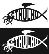 Image of Cthulhu Decal (8.5&quot; x 4.125&quot;)