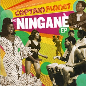 "Image of Captain Planet - The Ningane EP 12"" Vinyl"