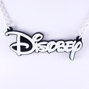 Image of Disobey Necklace