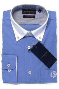 Image of HENRI LLOYD LUNDY BLUE SHIRT
