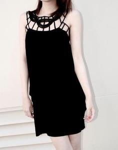 Image of Little Black Funky Dress