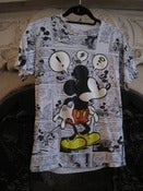 Image of Mickey Mouse Comic T Shirt