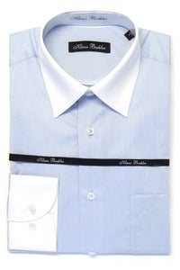 Image of KLAUSS KL7452 LIGHT BLUE SHIRT
