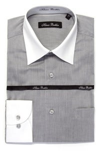 Image of KLAUSS KL7452 LIGHT GREY SHIRT