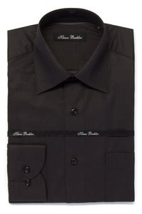 Image of KLAUSS KL745 DARK BROWN SHIRT