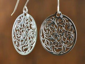 Image of Lotus earrings small