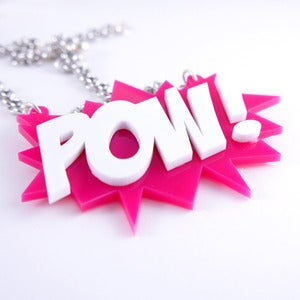 Image of POW! Explosion Necklace