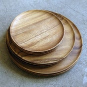 Image of 10&quot; acacia plate