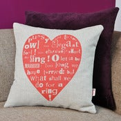Image of 'Heart' Cushion