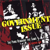 "Image of Government Issue ""The Punk Remains the Same"" CD"