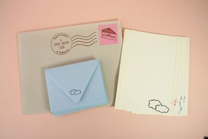 Image of Stormy Weather Signed, Sealed, Delivered Stationery Set 