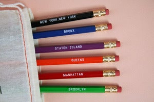 Image of New York Pencil Set