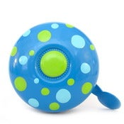 Image of picots sur bleu- polka dots on blue