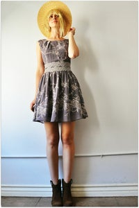 Image of Lavender Lace Mini Dress