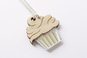 Image of Little Miss Cupcake Necklace