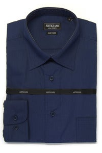 Image of ARTIGIANO CR706 NAVY SHIRT