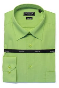 Image of ARTIGIANO CR706 GREEN SHIRT