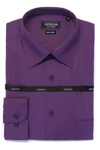 Image of ARTIGIANO CR706 PURPLE SHIRT