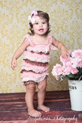 Image of Lace Petti Rompers