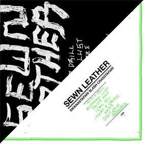 Image of SEWN LEATHER - Sikknastafari Slash Crasstafari LP