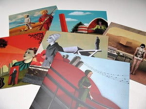 Image of Square Postcards