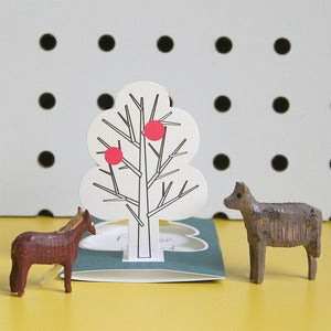 Image of Set of 5 Little Tree Cards