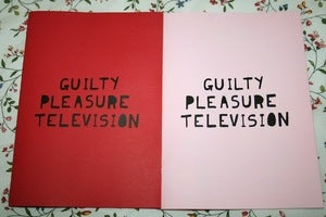 Image of 'Guilty Pleasure Television' Zine