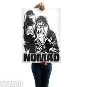 Image of  Nomad Clothing Logo Poster